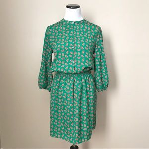Collective Concepts Green Spring Summer Dress